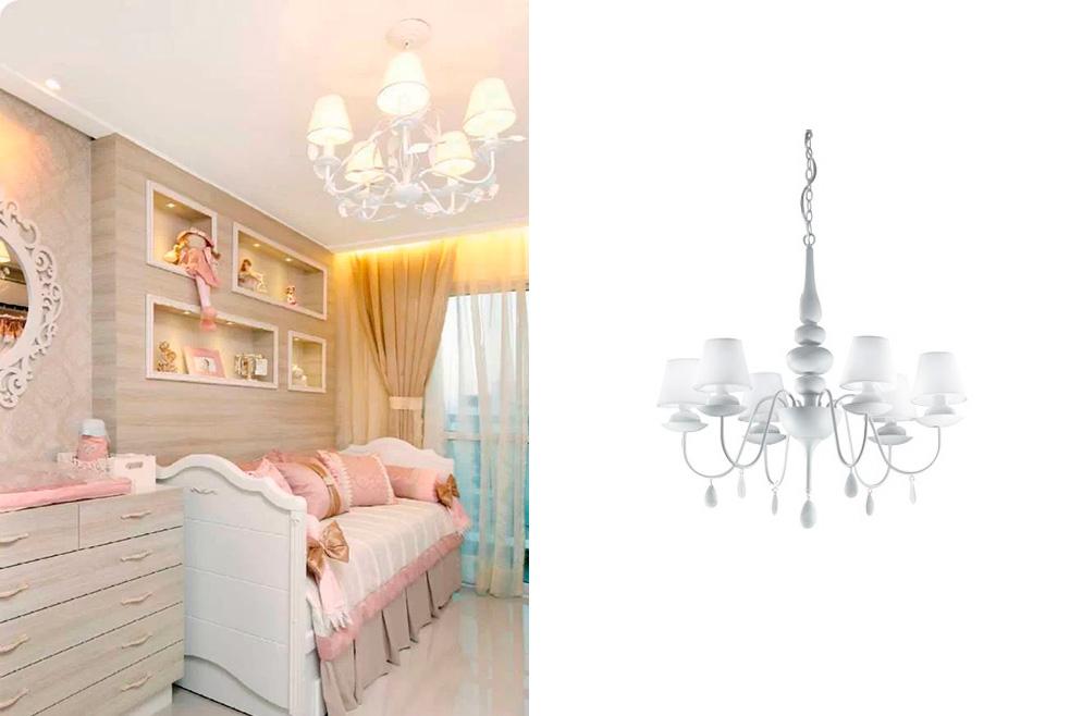 Inspiraci n cuartos infantiles i deco lighting - Lampara para habitacion ...