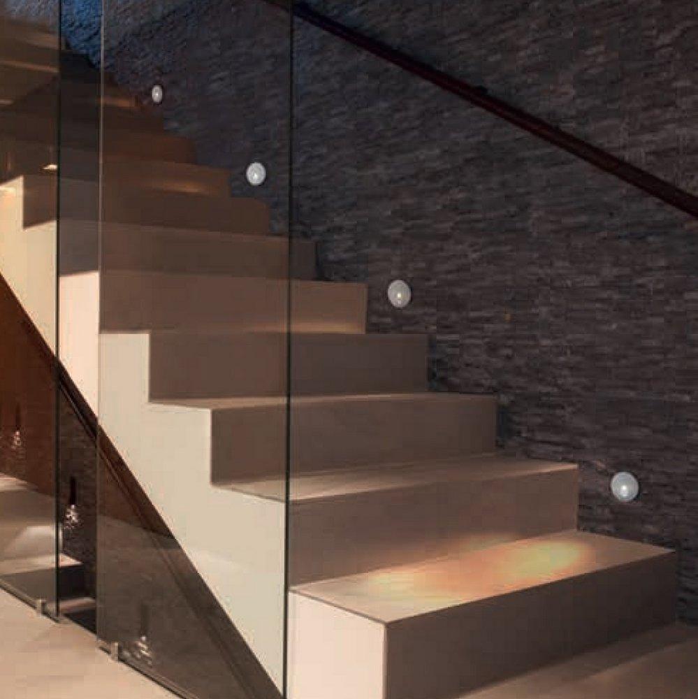 Deco lighting el blog de decoraci n e ideas de aranda for Apliques modernos para escaleras